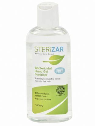 STERiZAR 100ml Gel Flip Top Hand Sanitiser